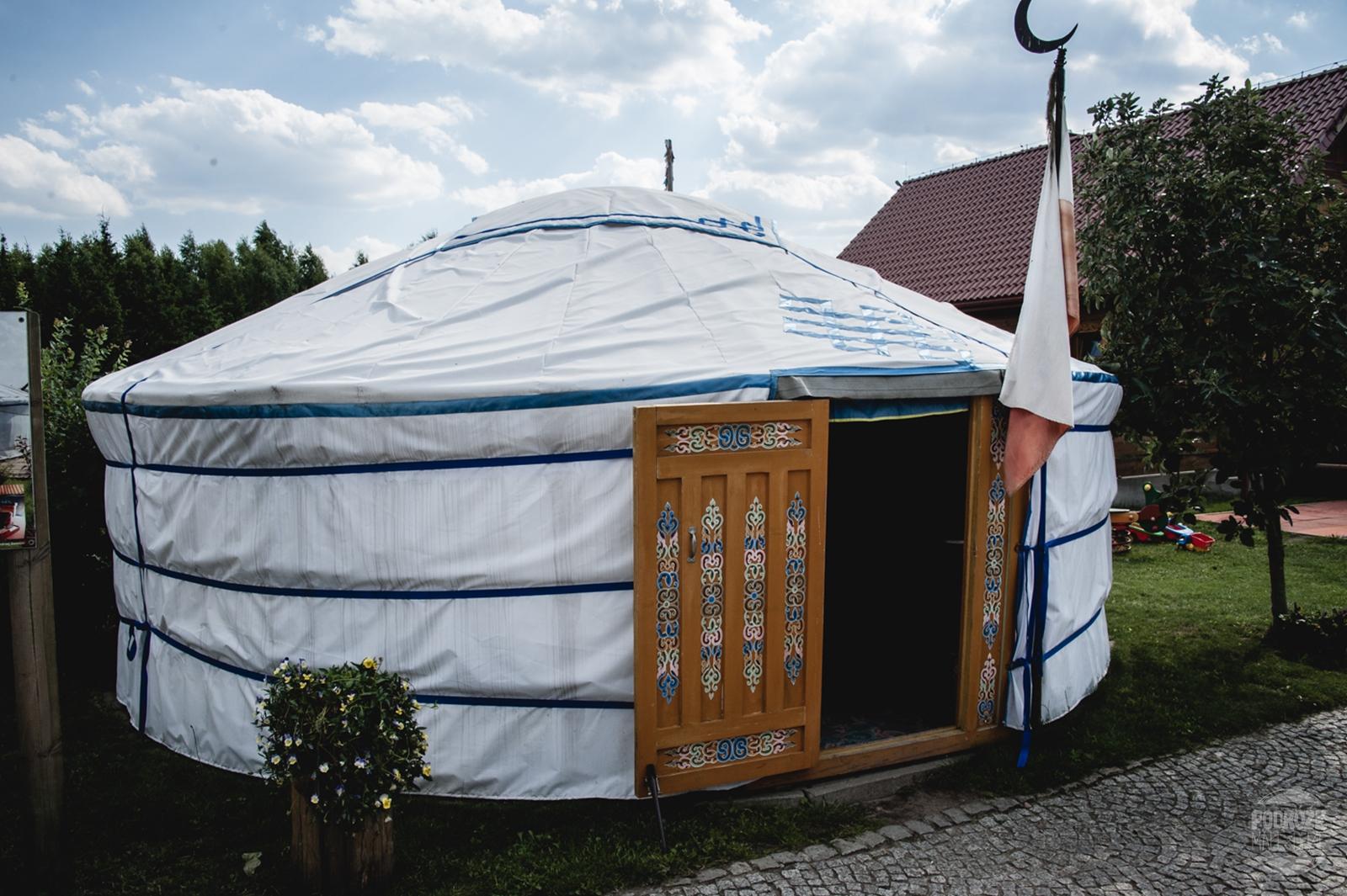 tatarska jurta kruszyniany