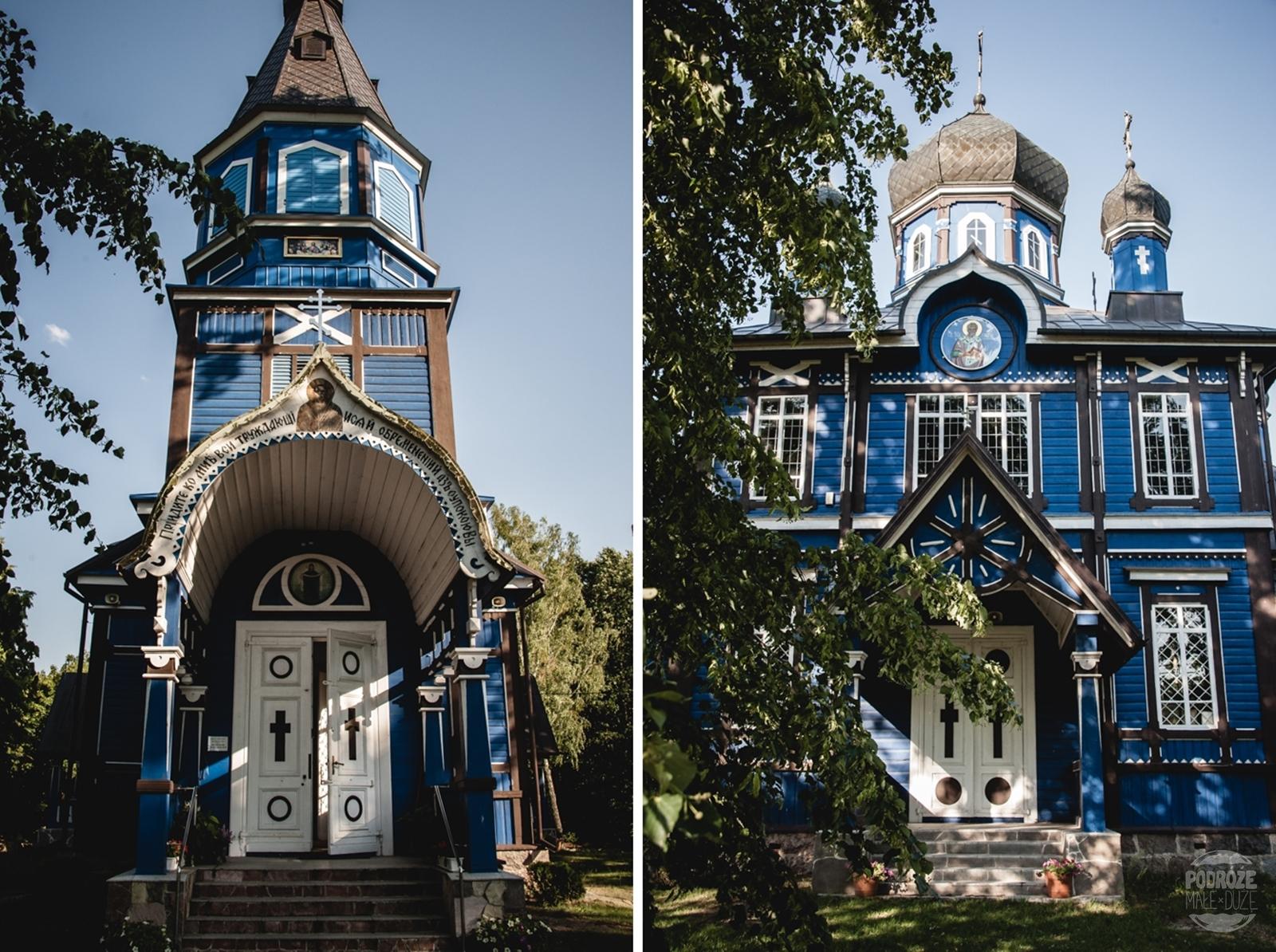 Cerkiew Opieki Matki Bożej w Puchłach