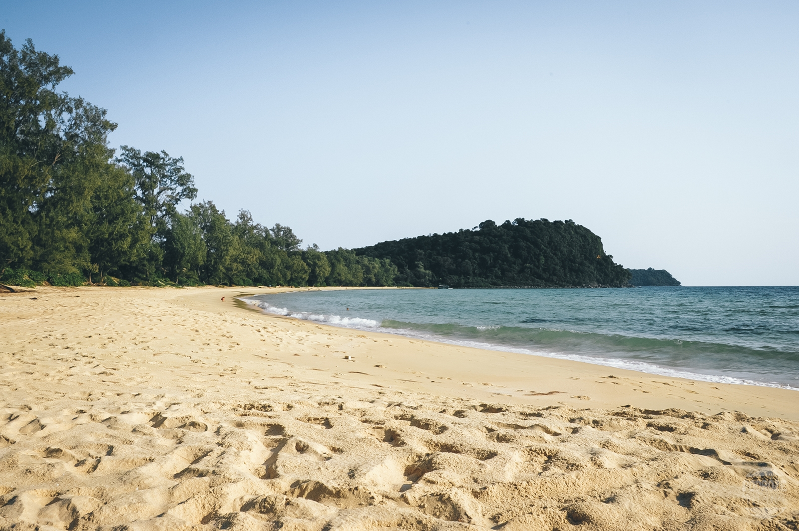 koh rong samloem kambodza lazy beach