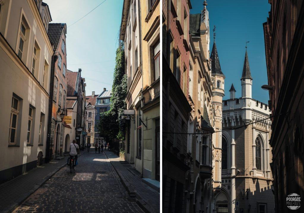 ryga Łotwa stare miasto