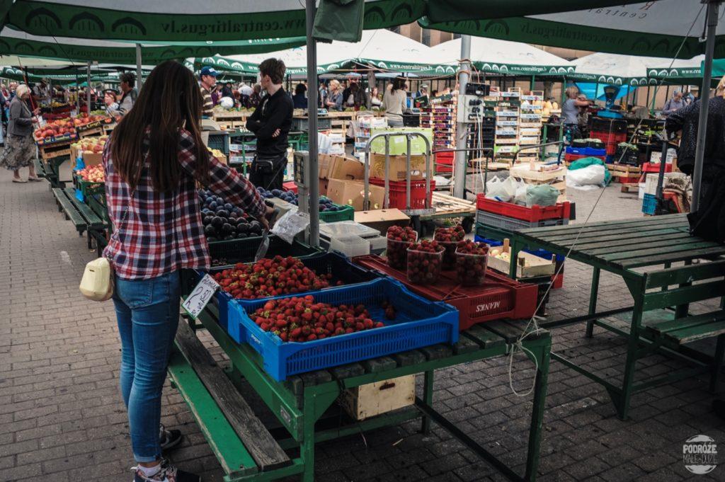 Centrāltirgus łotwa ryga hale targowe bazar